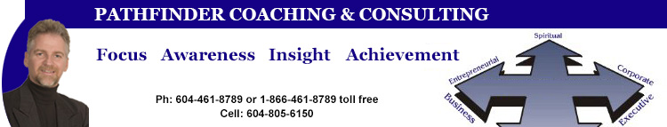 PATHFINDER COACHING & CONSULTING - Focus - Awareness - Insight - Achievement